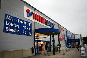 På lördagen kunde butiken hålla öppet som vanligt.