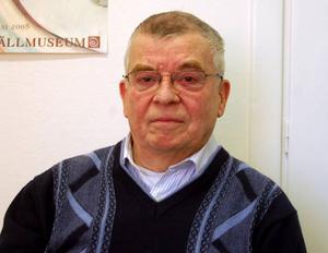 Per Hammarberg är född i Lillhärdal men har bott  i London i 40 år. Nu har han köpt ett hus i Lillhärdal och ska flytta hem lagom till pension.  foto. carin selldén