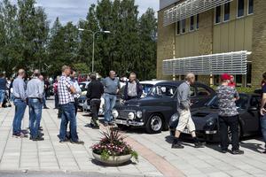 Hägglunds Classic Car and Vehicle Clubs årliga bilutställning lockade ett stort antal besökare.