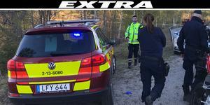 Allvarlig motorcykelolycka söder om Örnsköldsvik. Föraren fördes till sjukhus med ambulans.