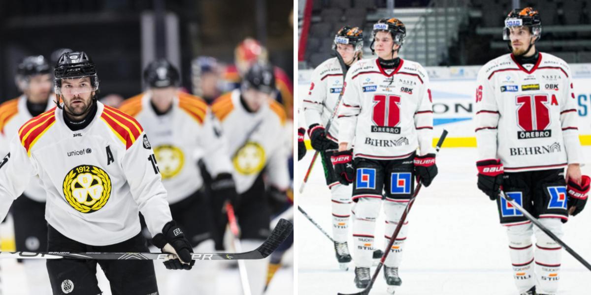Coronautbrott i Örebro Hockey – matchen mot Brynäs skjuts upp