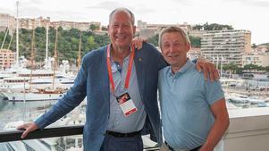 P-O Andersson och Claes Mellgren, grundare av AQ group.Foto: EY/Studio Phenix