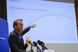 Björn Eriksson, hälso- och sjukvårdsdirektör Region Stockholm. Foto: Anders Wiklund