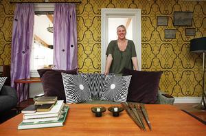 Arkivbild från 2010 på Pernilla i vardagsrummet som gjordes om i TV-programmet