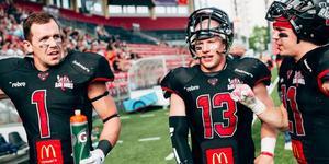 Bröderna Murphy återförenas i Örebro till nästa säsong. Foto: Andreas Lundgren