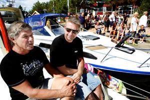 Ove Sundberg och Stefan Persson lade till vid Orn redan i torsdags.