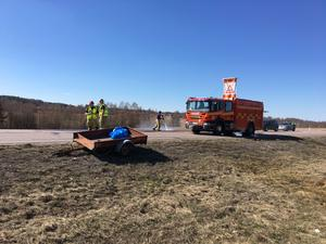 Olyckan inträffade på riksväg 70.
