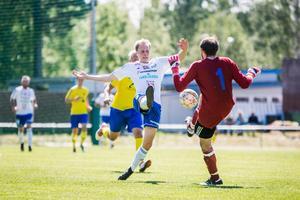 Fem mål på två matcher – men nu tar Niklas Norman en planerad paus från fotbollen och målgörandet.