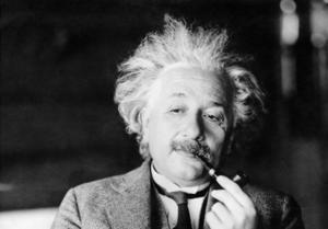 Insändarskribenten skrev nyligen dikten Oklippt, om hur han liknade Albert Einstein. Här är del 2. Foto: TT