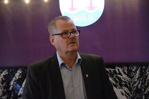 Lars Backlund, ordförande i Timrå IK.