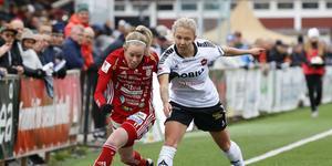 Nathalie Hoff Persson till höger. Foto: Pär Bäckström/TT