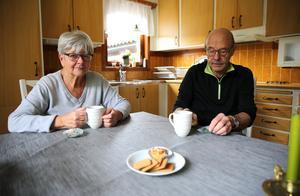 Vi är rädda om vårt fina Mora, säger Britt och Anders.