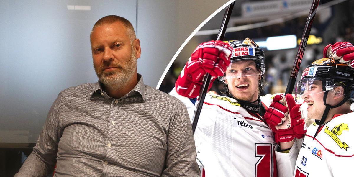 """Efter plusresultatet – så ska Örebro Hockey skapa en bättre ekonomi: """"Då skulle det skapa en trygghet"""""""