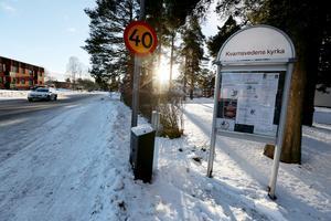 Polisen har inlett dörrknackning i Kvarnsveden.