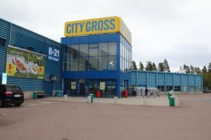 Citygross lokaler på Tallen ska snart målas om från blått till grått.