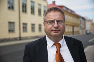 Martin Gollwitzer är arkeolog på Länsstyrelsen Dalarna och ser till projektet.