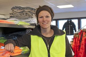 Theresia Hållén, Norrby SK, tilldelas årets föreningsledarstipendium. Arkivfoto: Mikael Stenkvist