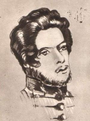 Den unge Karl Marx var en av Friedrich Hegels studenter.  Okänd konstnär.