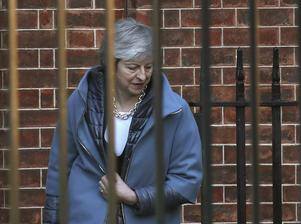 Theresa May är Storbritanniens premiärminister.