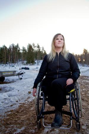 Matilda Persson blev utskriven från sjukhuset den 25 januari och hon är nu tillbaka hemma på gården i Bäckmora.