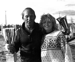 Världens längsta vattenskidlopp, Frösön runt , var 81 kilometer långt och hölls under Yranhelgen. Vann gjorde Hasse Bollnert som fick pokaler av kranskullan Berit Gradin.