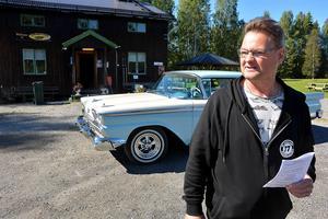 Bilklubben Karlsro Flyers ordförande Sven-Ingvar Eriksson. Bild: Micke Engström