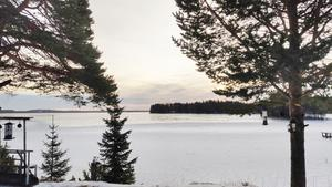 Månstaviken i Fåker har nyis igen! Foto: Stig-Björn Sundell