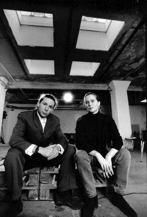 Jean-Claude Arnault och Katarina Frostenson, 1991. Foto: Lars Pehrson / SvD / TT