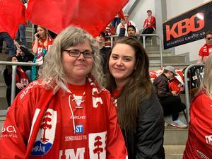 Lisbeth Sjöberg och dottern Sanna Berglund.