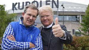 Lennart Sacrédeus eller Lars Adaktusson är aktuella att ta plats på riksdagens dalabänk för KD.