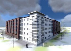 Sundsvalls kommun bygger ett helt nytt äldreboende. Det nya äldreboendet blir i fem våningar och kommer sammanlagt att ha 71 platser.