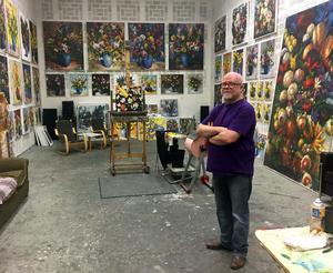 Anders Hultman flyttade in i sin häftiga ateljé för 25 år sedan.