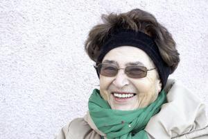 Nada Zaric, 77, pensionär, Pettersberg: – Jag kommer från ett krigsland, och drömmer om granater som faller, sedan vaknar jag och är rädd och ledsen.