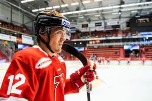 Max Lindholm i Örebro Hockey-tröjan. Arkivfoto: Maxim Thore/Bildbyrån