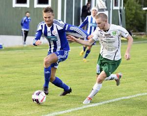 Petter Thelin från en match mot Gottne i division 3 för två år sedan.