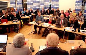 Kommunfullmäktige i Ånge före valet.