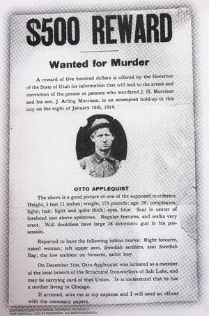 WANTED FOR MURDER: Joe Hills kompis Otto Appelquist efterlystes sedan han försvunnit på mordkvällen. Vi  vet fortfarande inget mer om honom.