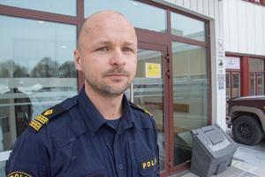 August Knutsson, lokalpolisområdeschef i Östersund.