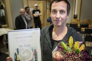 Ljusdals kommun visade Pär Åström sin uppskattning och tilldelade honom kommunens kulturdiplom för 2018.