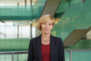 Annika Rådström är tillförordnad socialdirektör i Södertälje kommun. Pressbild: Södertälje kommun/Christian Ferm