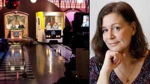 Kulturredaktionens Carina Tenor skriver en tv-krönika om den subtila grabbigheten hos På spårets programledare.