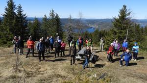 Utsikt från Ringkallen västerut mot Gaviksfjärden. Foto: Åke Öberg