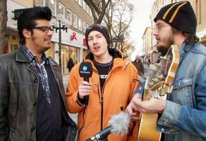 Ett av Östersunds få doo wop-band – The Ranjeet's – består av: Pierre Andersson, sång och gitarr, Fredrik Bülow, sång och gitarr och Henrik Persson, sång och bas. Med i bandet är även trummisen Mikael Eriksson.