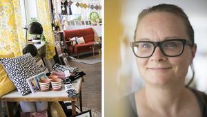 Sofie Åkerström driver inredningsbutiken Vardagsrummet.