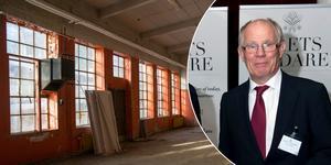 Claes Dahlbäck, ordförande i Grafikens hus styrelse, hoppas kunna inleda hyresförhandlingar med Telge fastigheter under hösten.