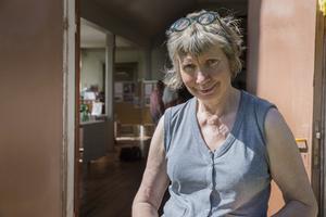 Helen Ersbacken var en av tre utställare under Åsgarns marknad.