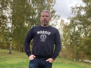 Christer Nilsson hade inbrott i sin BMW natten till torsdagen då ratten, en panel och instruktionsboken stals. Han säger att det märktes att tjuvarna var proffs.