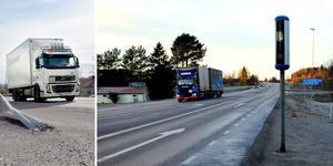 Trafikverket planerar att sätta upp fler fartkameror på Timmervägen och E14.  Bild: Fredrik Söderberg