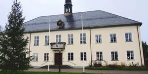 I Rättviks kommunhus sitter ett foto av Ulla Gudmundsons farfar, hemmansägaren Olof. Men vad skulle han säga om Rättviks kommunledning i dag?  Foto: Arkiv