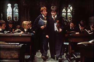 Harry Potter och de vises sten. Foto: AP Photo/Peter Mountain/Warner Bros. Pictures